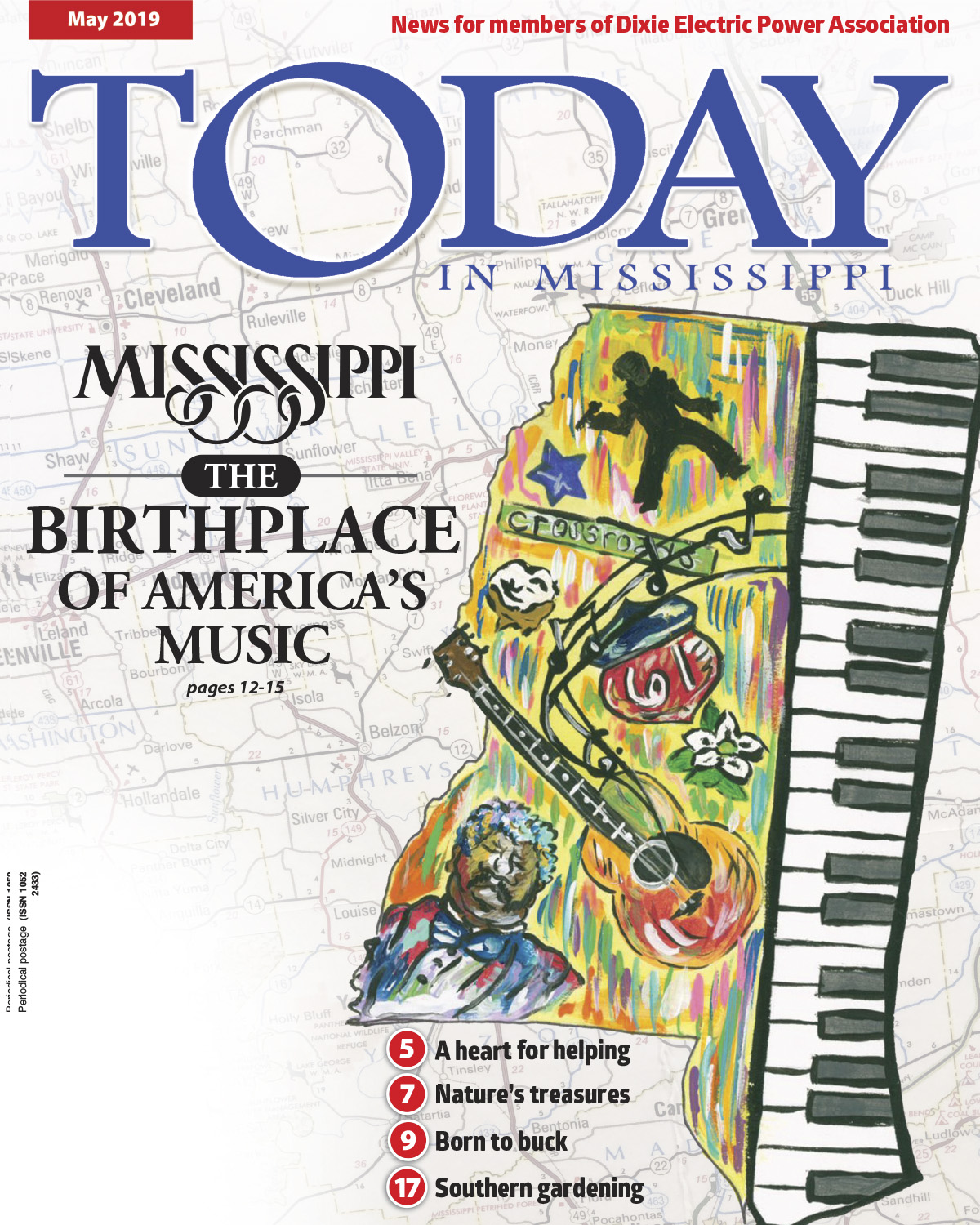Front cover of Today in Mississippi